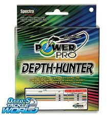 PowerPro Depth Hunter (10 lb. / 333 yards) Multi-coloured Braided Fishing Line