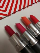 MAC Is Beauty Lot Set of 4 Lipsticks Silly/Diva-ish/Reel Sexy/Make Me Gorgeous