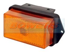 RUBBOLITE 335/01/00 P06782B AMBER ORANGE SIDE MARKER LIGHT IFOR WILLIAMS TRAILER
