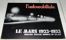 L'AUTOMOBILISTE 1971 N°24 & 25 SPECIAL 24 H MANS 1923-1933 SILVERSTONE RALLYES