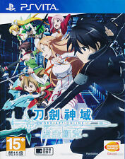 Sword Art Online Hollow Fragment - English subtitles - PS Vita Game - New Sealed