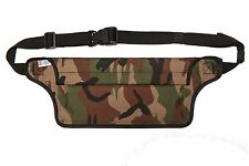Aqua Quest AquaRoo 100% Waterproof Money Belt Waist Bag Fanny Pack - Camouflage