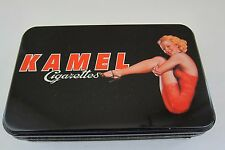 Kamel Red Cigarettes Tin with TWO Decks of Playing Cards SEALED decks