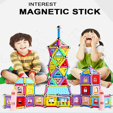 103pcs Educational Magnetic Sticks Building Blocks Toys Set Kids Develop Gifts