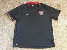 USA Nike Soccer 2008-09 US Jersey Pre Game Gray Mens Sz XL USMNT Football Futbol