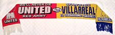 Manchester United v Villareal Scarf 2005-2006 Champions League