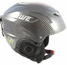 AWE® Ski Snowboarding Freeride Out Mould Helmet Adult 58-60cm CE EN 1077