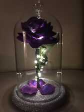 Beauty And The Beast Inspired Enchanted Rose Light Purple MOTHERS DAY WEDDING