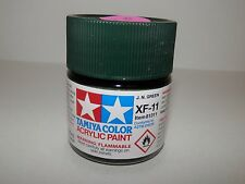 Tamiya Color Acrylic Paint Flat Jungle Green #XF-11 (23 ml) NEW