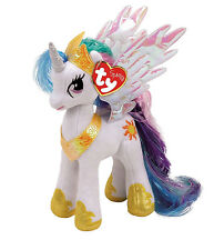 "Princess Celestia Beanie Plush Soft Toy, My Little Pony 10"" (25cm)"