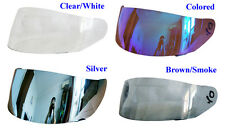 4 Colors Nuevo Visera para Casco de Modular Transparent Colore Plata Marron