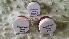 Sweetheart Rose 3 Pack Blush, Lips & Creases Heat Set Specialized Reborn Paints