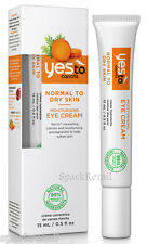 Yes To Carrots Moisturising Organic Eye Cream For Normal To Dry Skin 15ml
