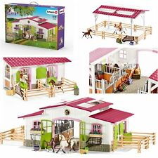 Schleich 42344 Pony farm+Rider+Horses Horse Club NEW
