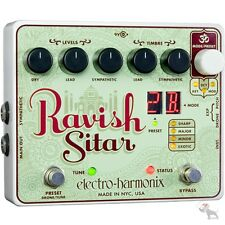 Electro-Harmonix Ravish Sitar Simulator Synth Guitar Effects Pedal