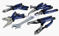 KOBALT 10 Piece Pliers Wrench Set Groove Slip Joint Locking Nipper Cutter Needle