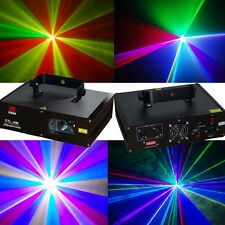 RGB full color DMX Disco dj pub laser stage lighting show projector equipment