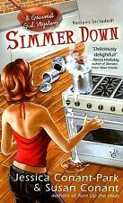 Simmer Down: A Gourmet Girl Mystery-ExLibrary