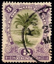 NORTH BORNEO 1894 3c P14.5 Isc#63 USED @P883