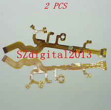 2PCS/ Lens Main Flex Cable For OLYMPUS FE-180 FE-190 CASIO EX-Z60 SANYO E7
