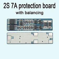 2S 7A li-ion BMS PCM lithium battery protection board Batterie with balancing