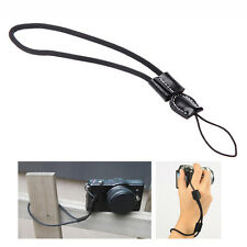 Camera Wrist Hand Strap w/ Genuine Leather for Canon Nikon Olympus Panasonic Q