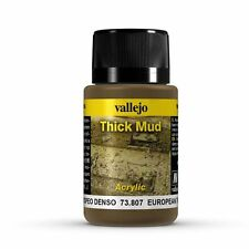 Vallejo Paints & Accessories VLJ-73807 European Thick Mud  Weathering Effect