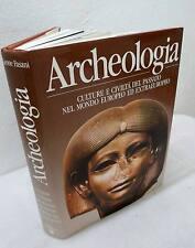 Fasani,ARCHEOLOGIA.CULTURE E CIVILTÀ DEL PASSATO,'89 Mondadori[storia,preistoria