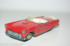 TEKNO DENMARK 809 FORD THUNDERBIRD RED GOOD CONDITION