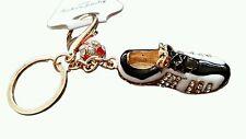 Sports Shoe Keyring Diamante Rhinestone Charm Ladies Bling Handbag perfect gift