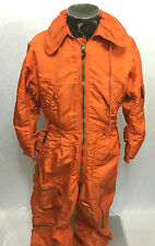 Vintage US Air Force CWU-1/P Orange Flight Suit