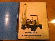 Arrow Mobile Hydraulic Hammer 1250 Parts Service Operator Shop Manual Catalog