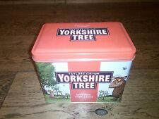 EMPTY YORKSHIRE TEA TIN CADDY GRUFFALO METAL TAYLORS OF HARROGATE