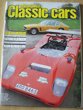 THOROUGHBRED & CLASSIC CARS--JAN 1982 inc JENSEN INTERCEPTOR + LOLA CANAM