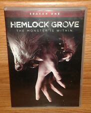 Hemlock Grove The Complete First Season 1 DVD 4 disc Skarsgard Horror Thriller