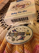 Longaberger Basket 1998 New Baby Tie On Ceramic Ornament 34151 NeW For YOU!