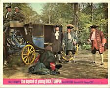 THE LEGEND OF YOUNG DICK TURPIN ORIGINAL WALT DISNEY LOBBY CARD STAGECOACH