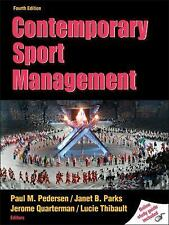 Contemporary Sport Management 4th Edition wWeb Study Guide