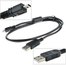 USB DC Charger Data SYNC Cable Cord For Panasonic Camera Lumix DMC-ZS19 DMC-ZS35