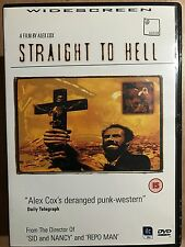 Joe Strummer The Clash Pogues STRAIGHT TO HELL ~ 1986 Cult Punk Western UK DVD