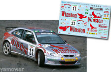 Decal 1:43 Ricardo Avero - CITROEN XSARA KIT CAR - Rally El Corte Ingles 2001