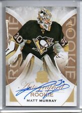 2015-2016 UD The Cup MATT MURRAY Gold Auto RC /36 Penguins