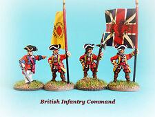 Guerra franco-indiana - British battaglione permanente (comando)