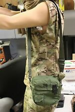 2 QT COLAPSABLE CANTEEN AND INSULATED 0.D. POUCH W/ SHOULDER STRAP NEW FREE SHIP