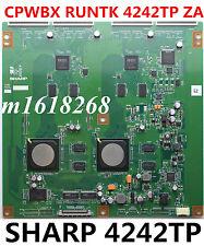 T-con board CPWBX RUNTK 4242TP ZA  LC-60E88UN CPWBXRUNTK4242TP SHARP AQUOS  SONY