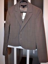 Express Design Studio Women's Blazer Gray Two Button Size 8 New NWT $148.00