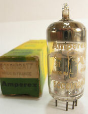 One 1962 La-Radio/Amperex Bugle Boy 12AT7 ECC81 tube- Gray Plates, Top O Getter