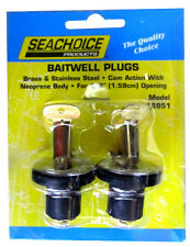 "Livewell/Baitwell Rubber Drain Plugs - Pair - 5/8"" - 18951"