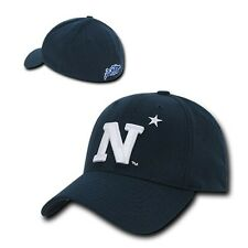 United States Naval Academy USNA Midshipmen Flex Baseball Fitted Fit Cap Hat