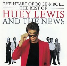 HUEY LEWIS & THE NEWS: THE HEART OF ROCK & ROLL - THE BEST OF / CD - TOP-ZUSTAND